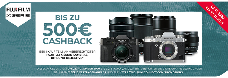 Fuji Winter Cashback