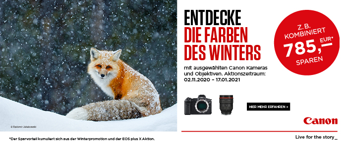 Canon Winter Promo